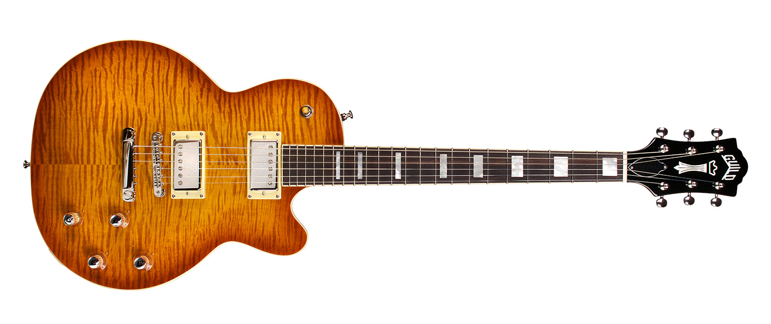 Bluesbird In Iced Tea Burst Guild Guitars