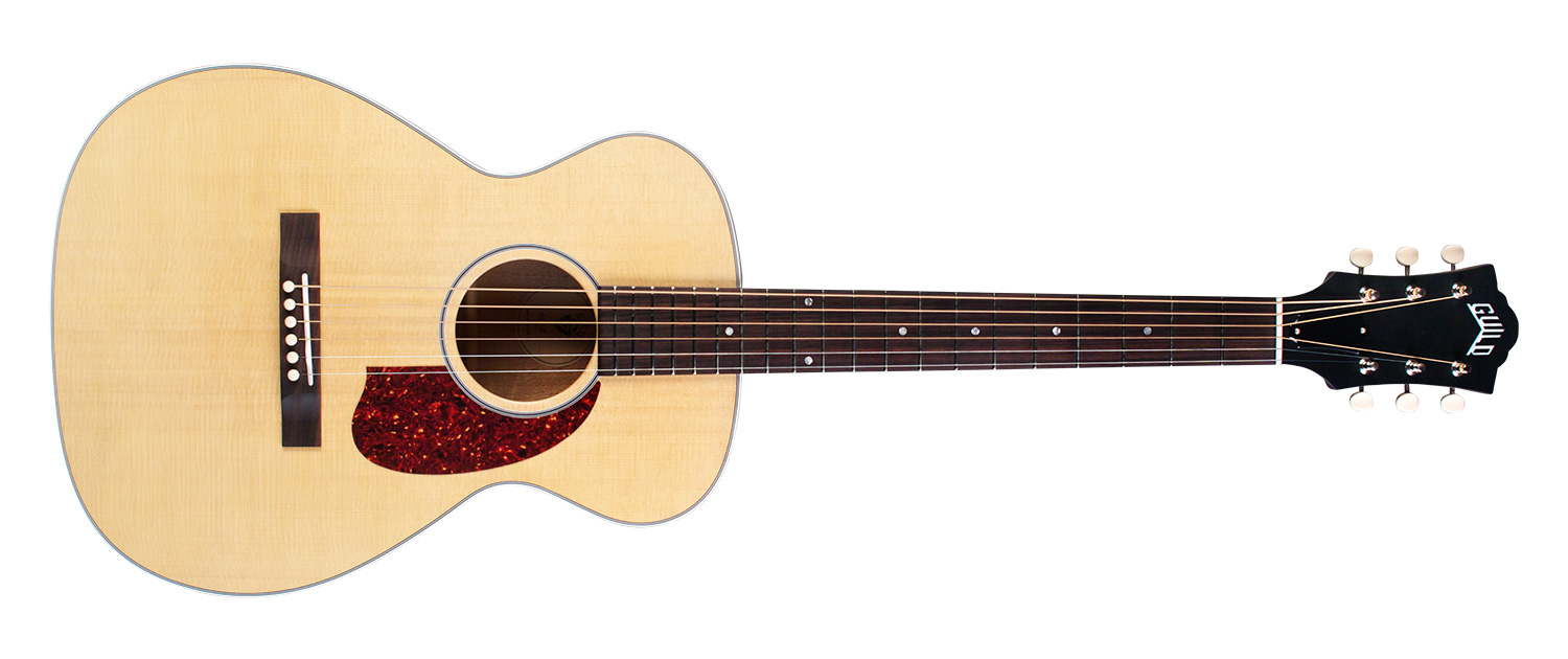 M 40 Troubadour Or 40E In Natural Guild Guitars