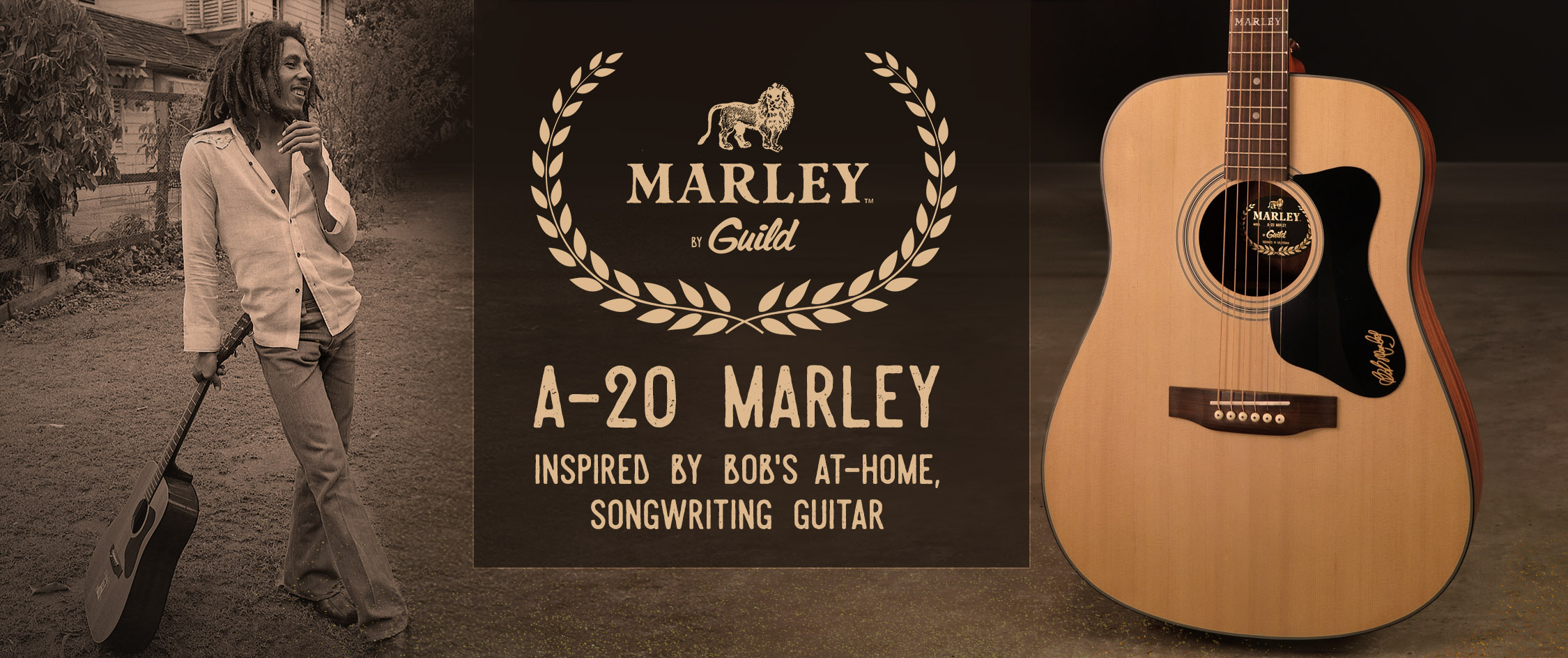 A-20 Marley Acoustic Guitar